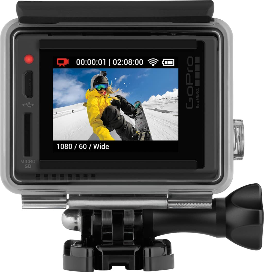 GoPro HERO+ LCD Launch at Best Buy For Father's Day