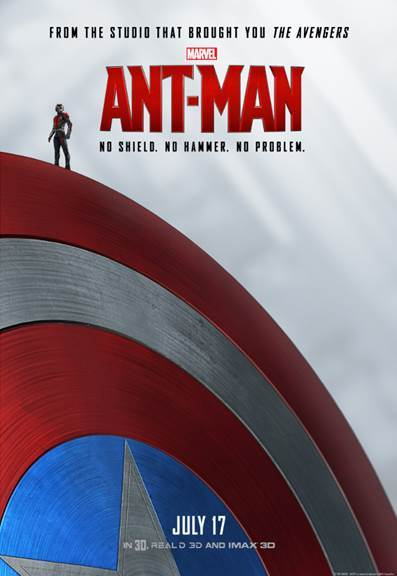 Marvel's ANT-MAN – New Posters Now Available