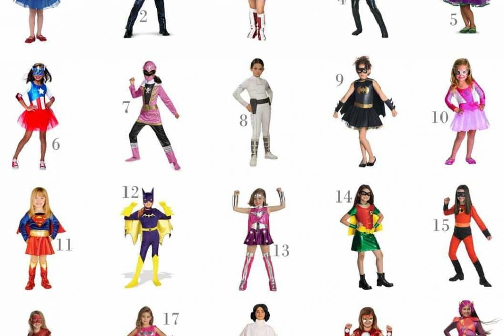 20 Super Hero/Villain Girls Halloween Costumes Under $30