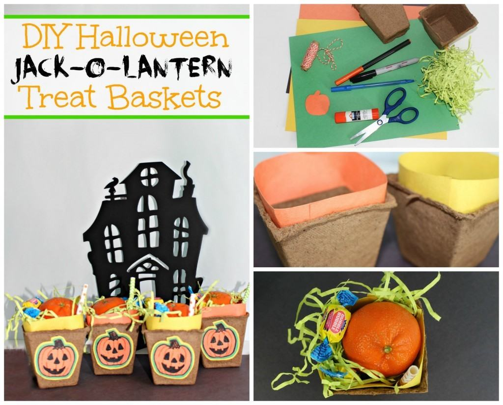 Jack - o - lantern treat baskets to sell