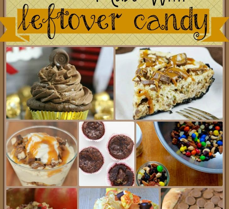 75 Sweets & Treat Made With Leftover Halloween Candy