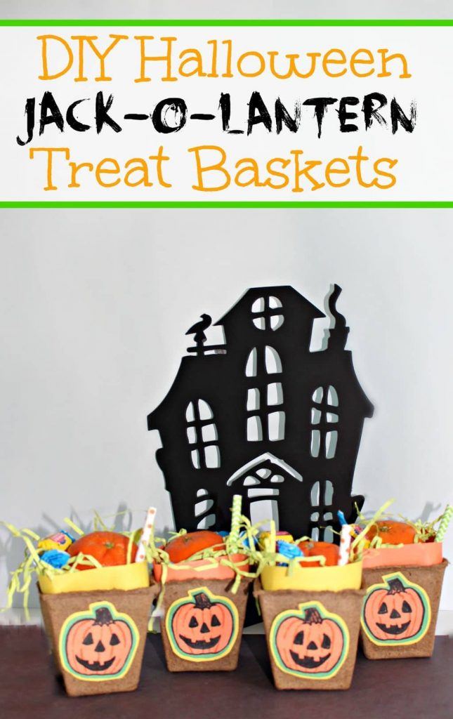 Pinnable image DIY Treat baskets