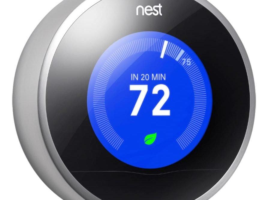 Nest Smart Thermostat @bestbuy #BBYConnectedHome