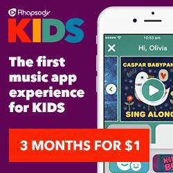 Rhapsody KIDS Giveaway