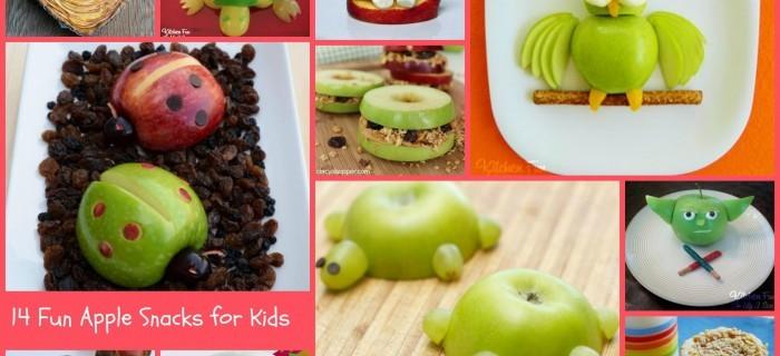 14 Apple Snacks For Kids