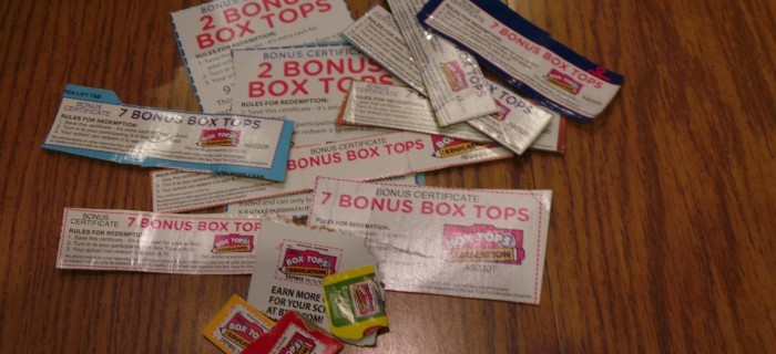 How @Hefty Box Tops Help and Support Schools and Education