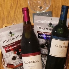 Girls Night In With Brookside Chocolate and Clos du Bois Wines & A Giveaway Too!  #TalkAboutDelicious