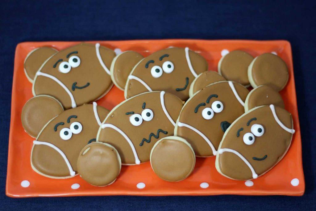 Football cookies 2-1