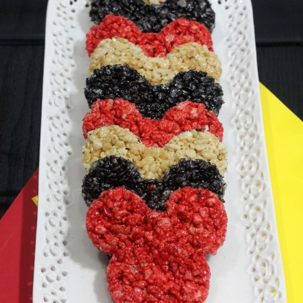 Rice Krispies Mickey Mouse Treats