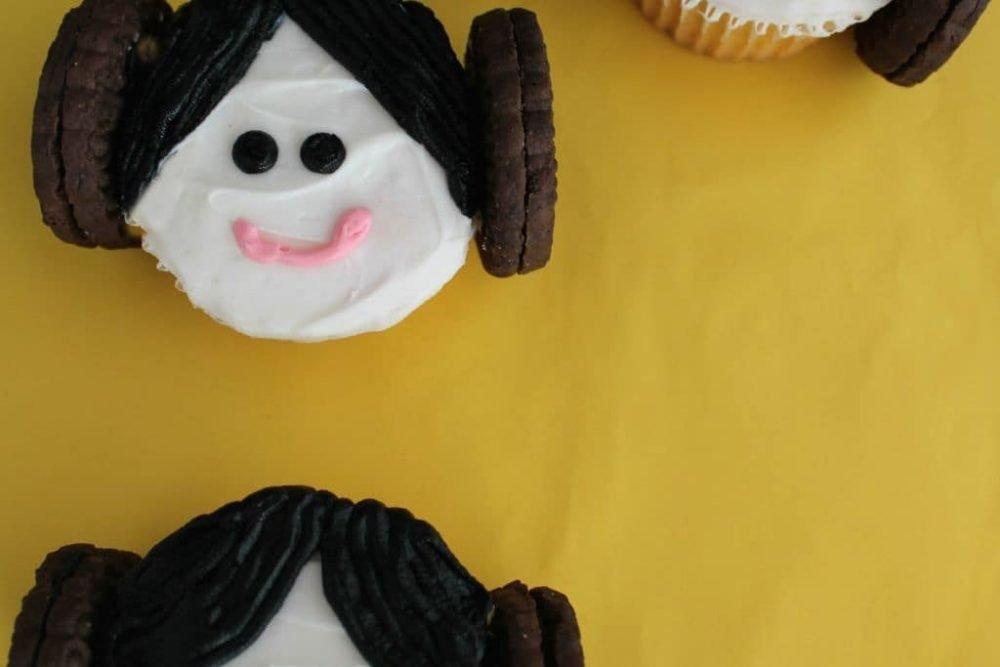Princess Leia Cupcakes #starwars