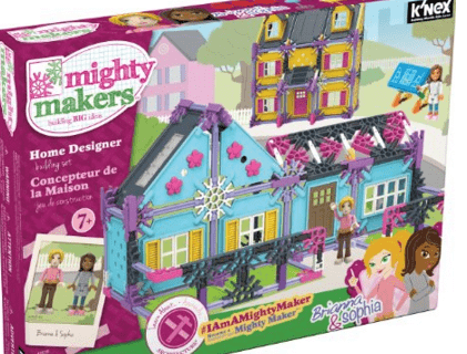 K'NEX Mighty Makers Home Designer Building Set