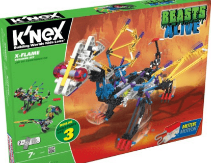 K'NEX Beasts Alive X-Flame Building Set