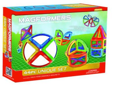 MAGFORMERS Unique 44 Piece Set Playset