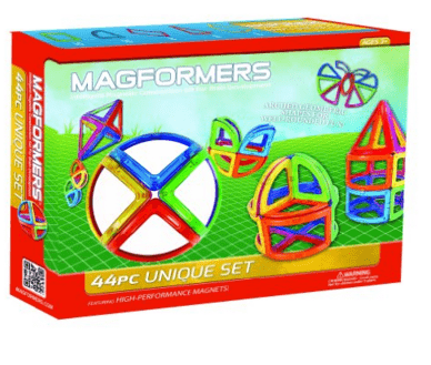 MAGFORMERS Unique 44 Piece Set Playset
