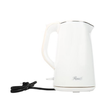 Rosewill Double Layer Insulated Stainless Steel Pot Double Wall Tea Water Electric Kettle