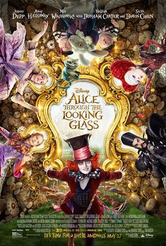 Pink To Partner With Disney's ALICE THROUGH THE LOOKING GLASS + New Poster!!!