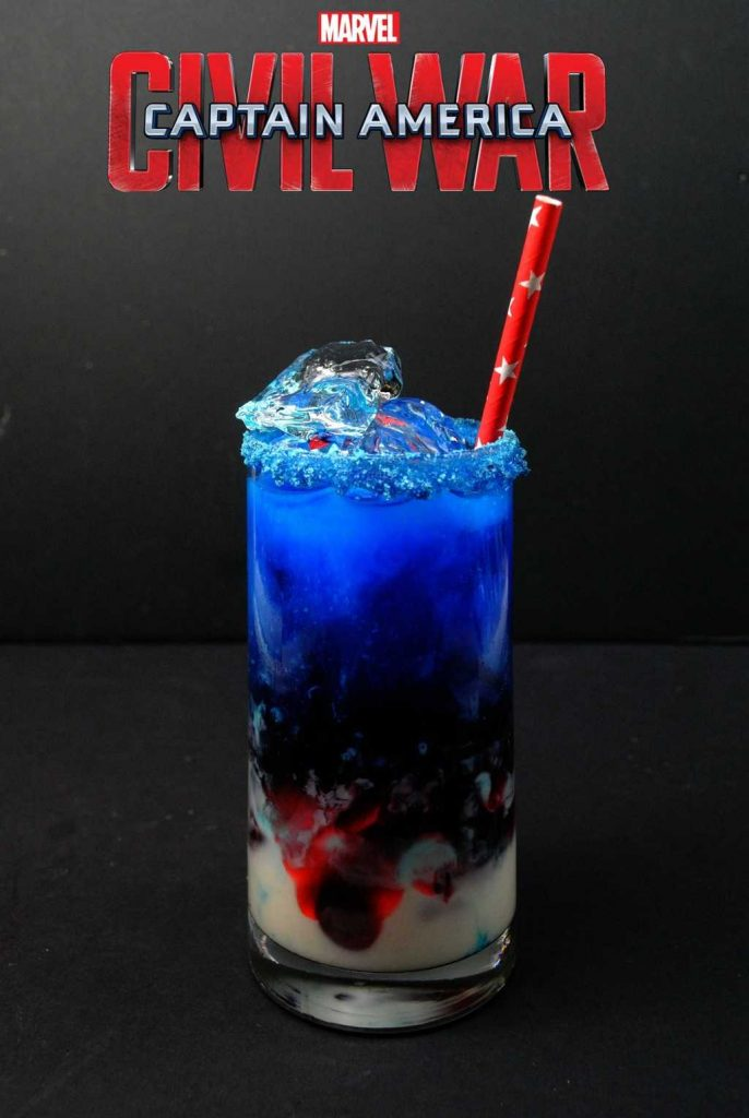 Captain America CW cocktail 1