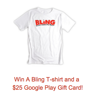 This #giveaway has BLING!