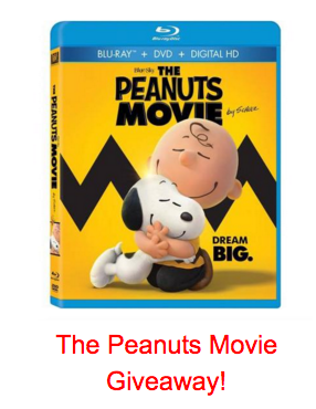The Peanuts Movie Giveaway!