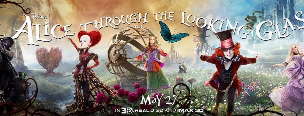 ALICE THROUGH THE LOOKING GLASS – New Trailer