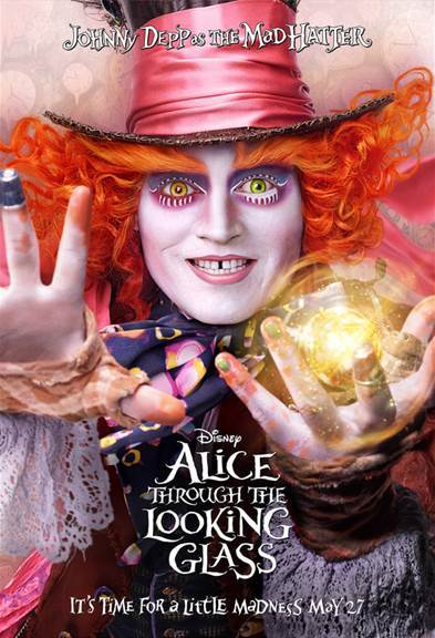 ALICE THROUGH THE LOOKING GLASS – The Mad Hatter Surprise!!!