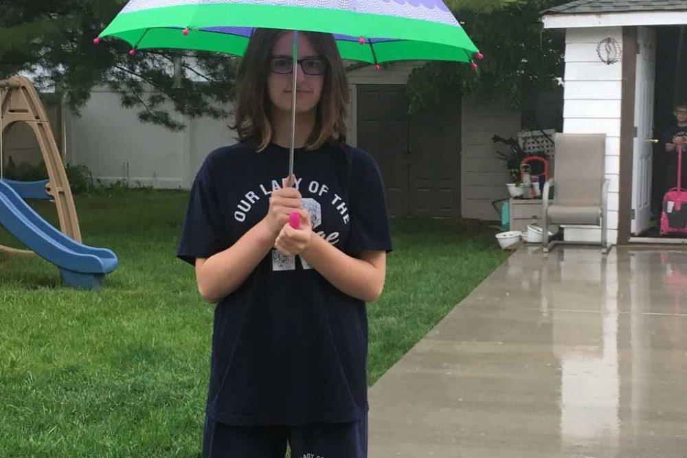 Rain, Rain, Go Away! Or NOT if you have a ShedRain Umbrella!