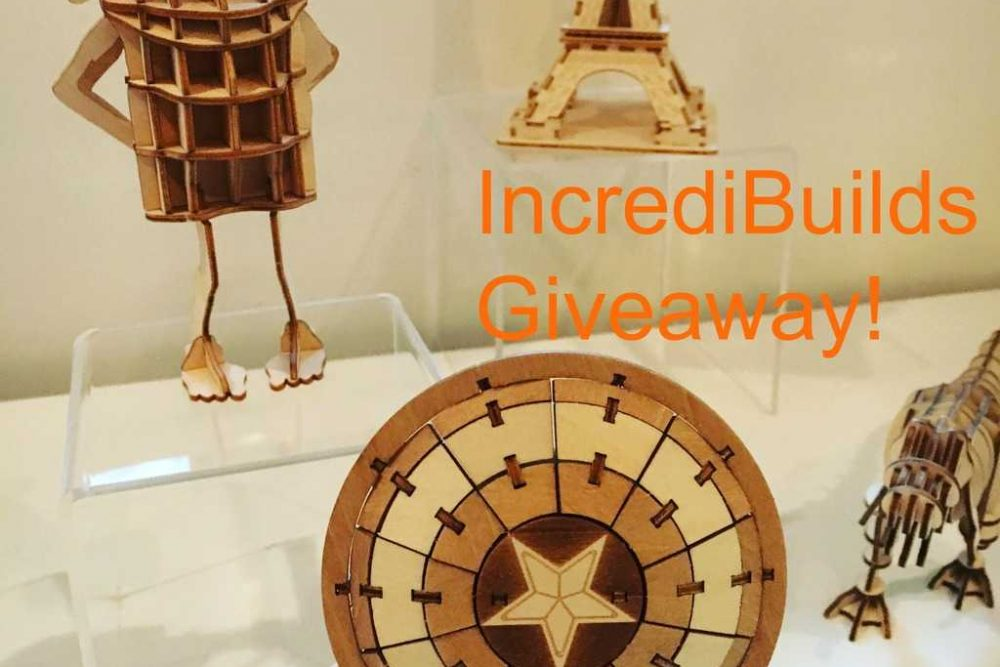 IncrediBuilds Giveaway!