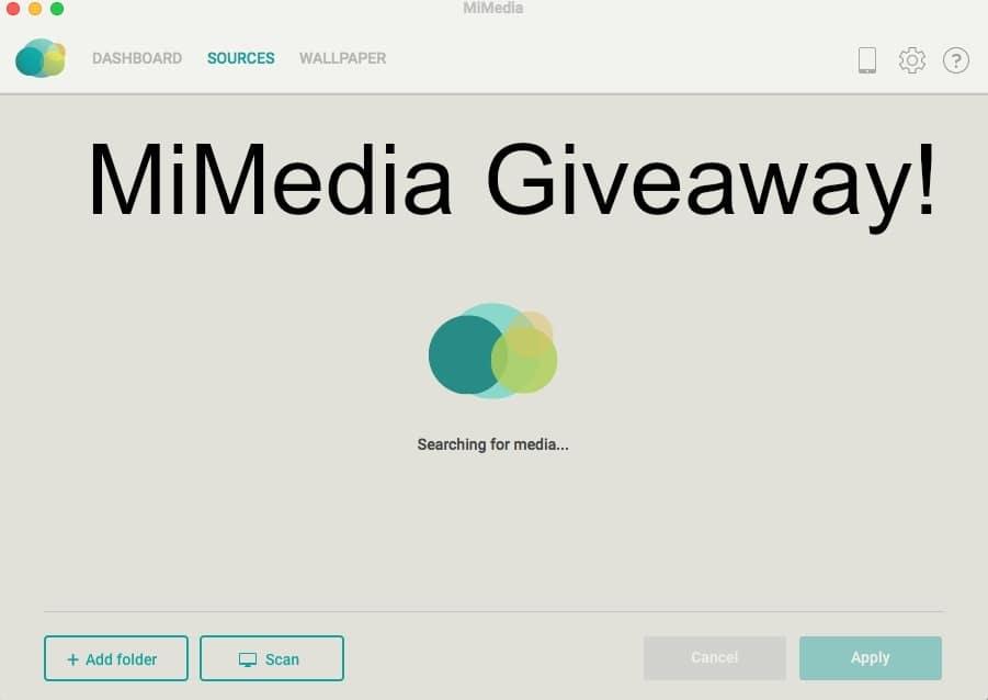 MiMedia Giveaway!