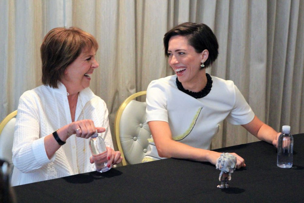 When Steven Spielberg Calls, My interview with Penelope Wilton and Rebecca Hall