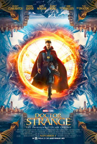 MARVEL'S DOCTOR STRANGE – New Trailer and Poster