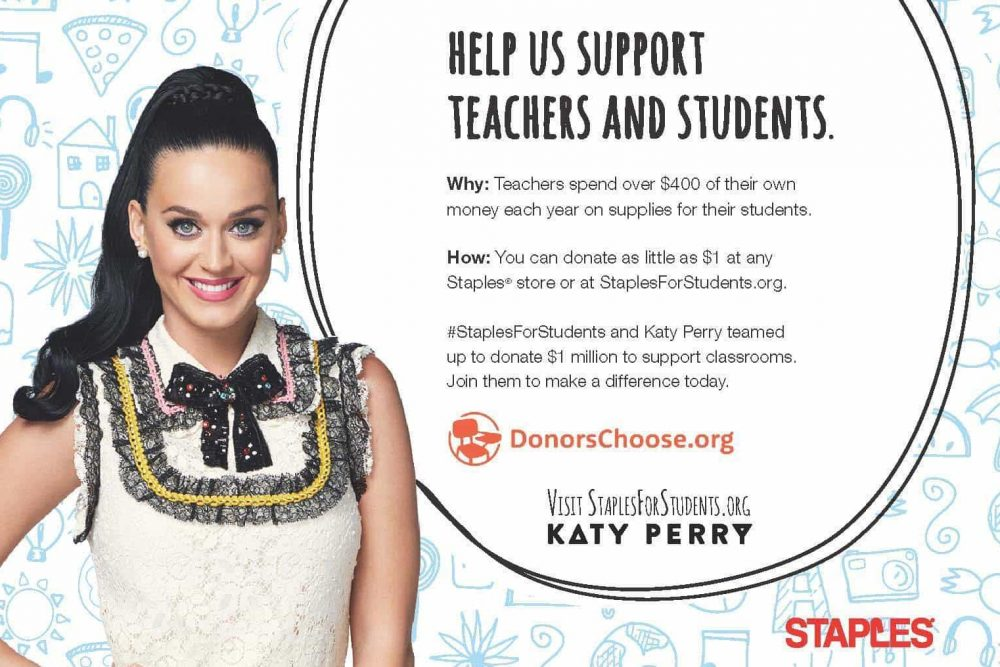 Join Staples in Helping Teachers Across America and Enter the #StaplesForStudents Sweepstakes for A Chance to Win a $50K Scholarship!