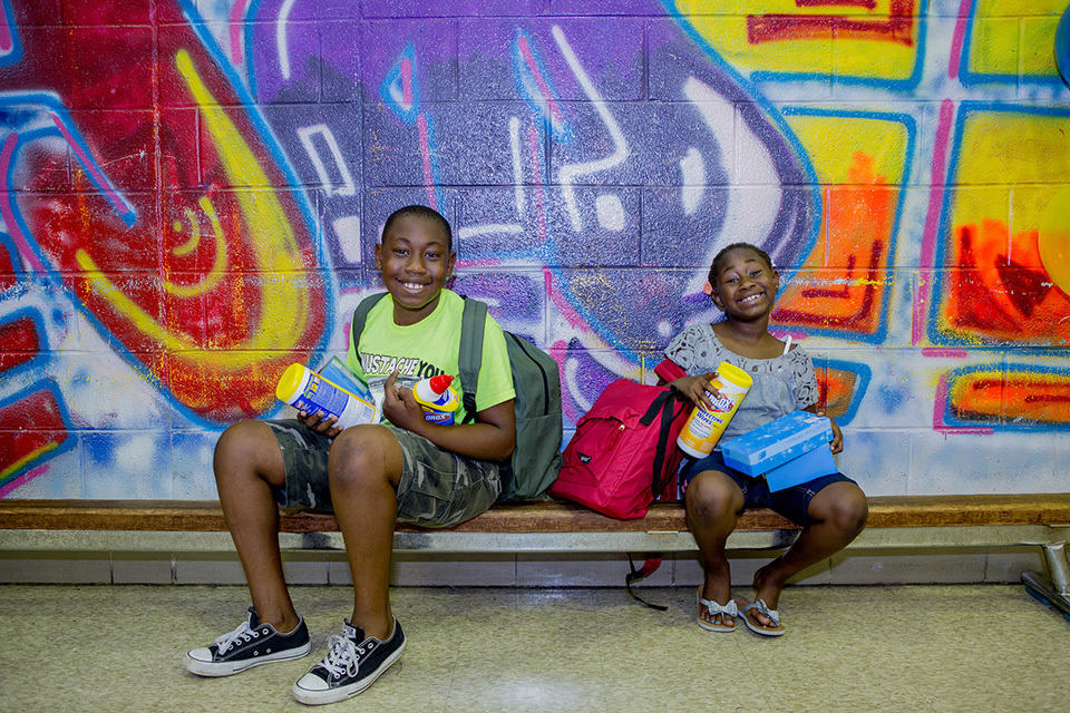Back To School With Clorox®, GLAD®, Hidden Valley®, and DonorsChoose