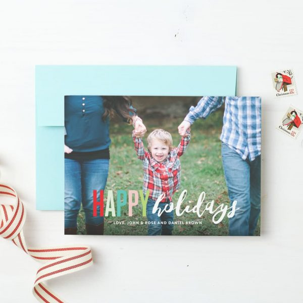 Get Your Custom Holiday Cards With Basic Invite