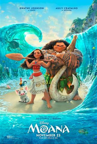Moana – New Trailer
