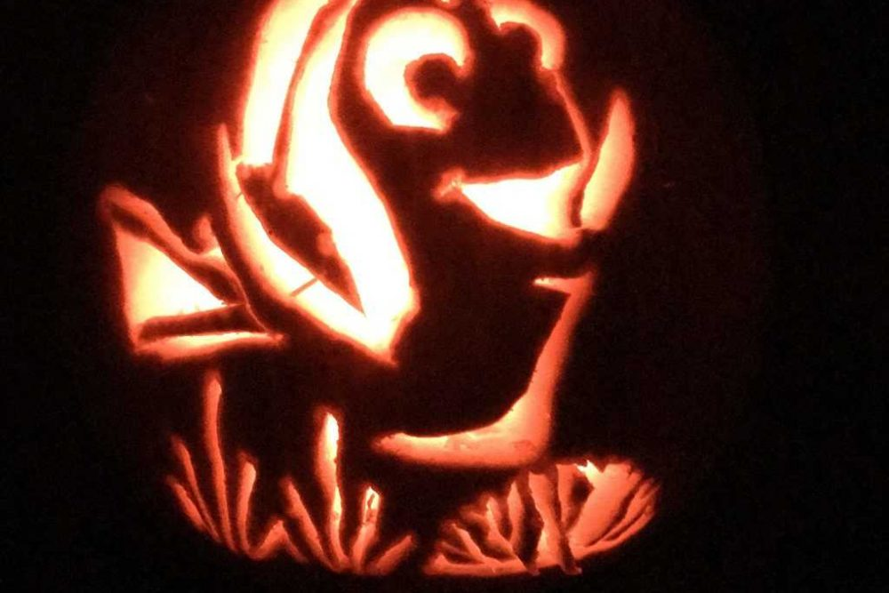 Finding Dory Is Coming To DVD And A Pumpkin Near You