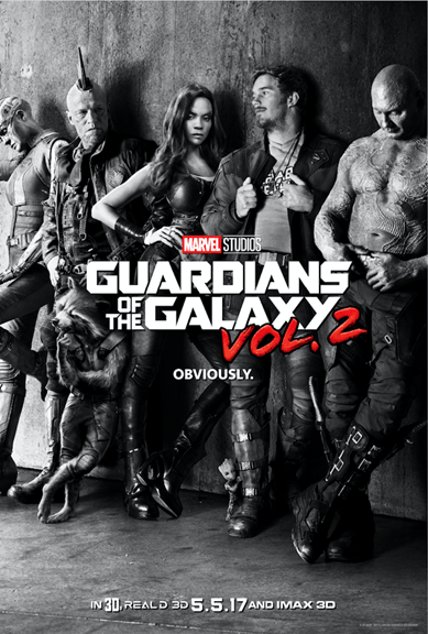 GUARDIANS OF THE GALAXY VOL. 2 – New Poster & Sneak Peek