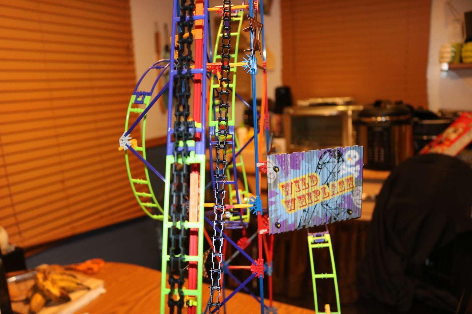 K 39 Nex Wild Whiplash Roller Coaster My Thoughts Ideas