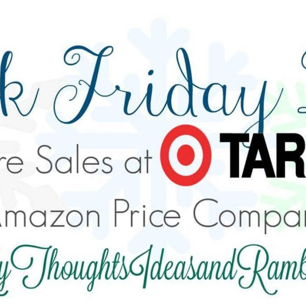 Target Black Friday Ad With Amazon Price Comparisons