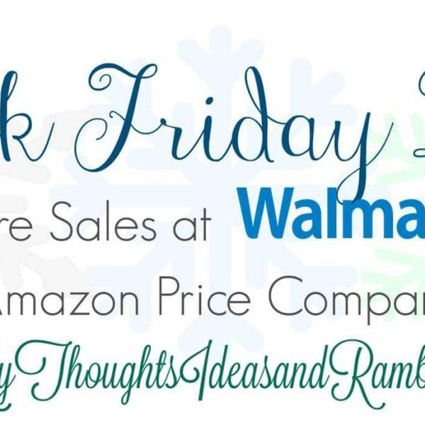 Walmart Black Friday Ad With Amazon Price Comparisons