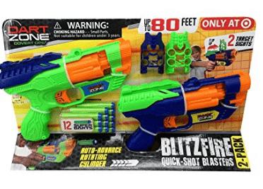 Dart Zone BlitzFire Quick – Shot Blasters