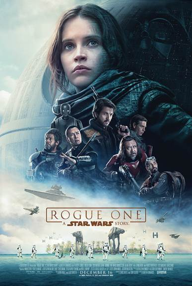 Rebellions are built on hope:  Star Wars Rogue One Review #NoSpoilers