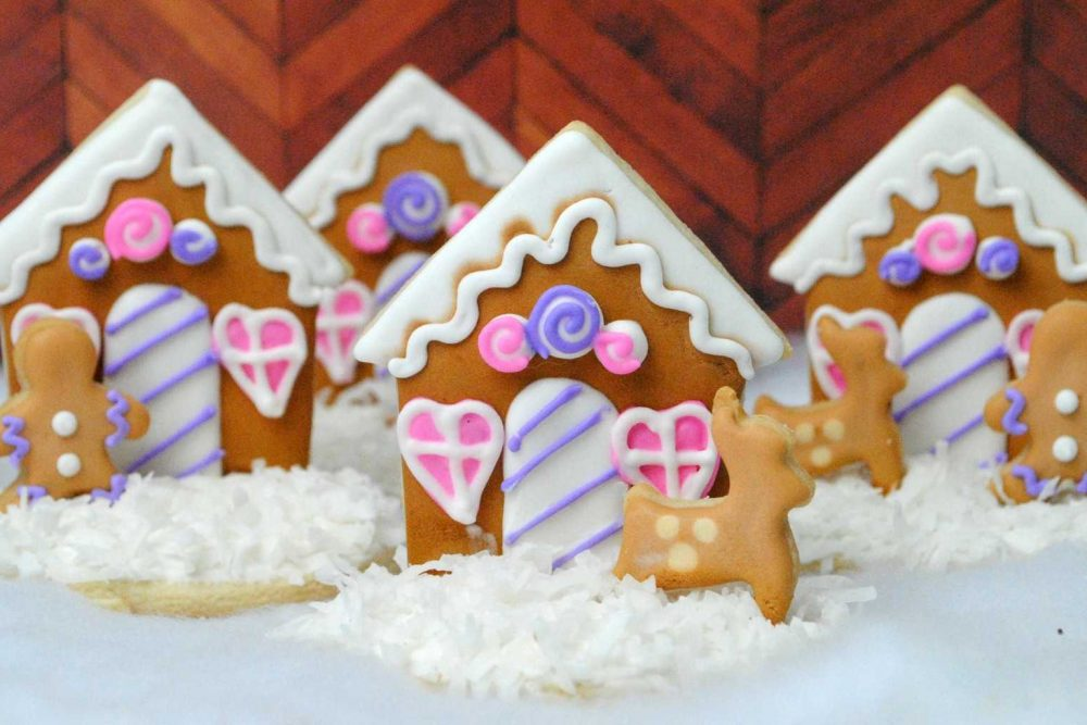 Christmas Recipe:  Gingerbread House Cookie