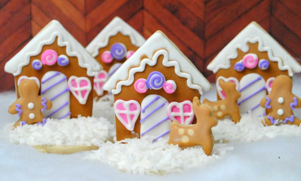 Christmas Recipe Gingerbread House Cookie