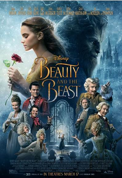 BEAUTY AND THE BEAST – New TV Spot & Poster Now Available!