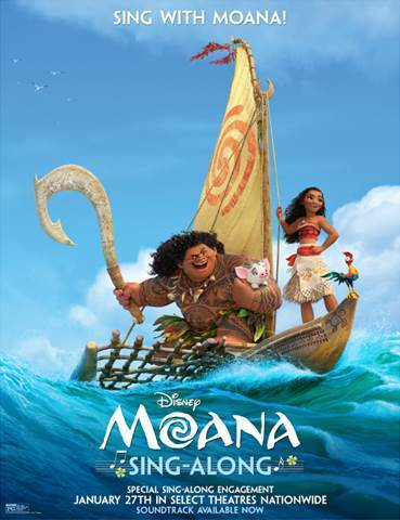 "MOANA – ""How Far I'll Go"" Sing-Along Sequence"