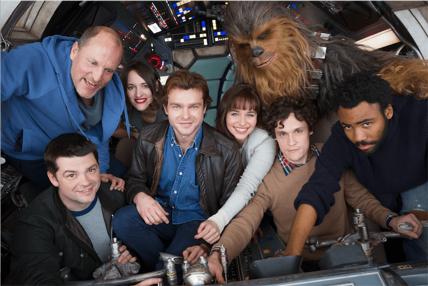 Han Solo Star Wars Story Production Began!