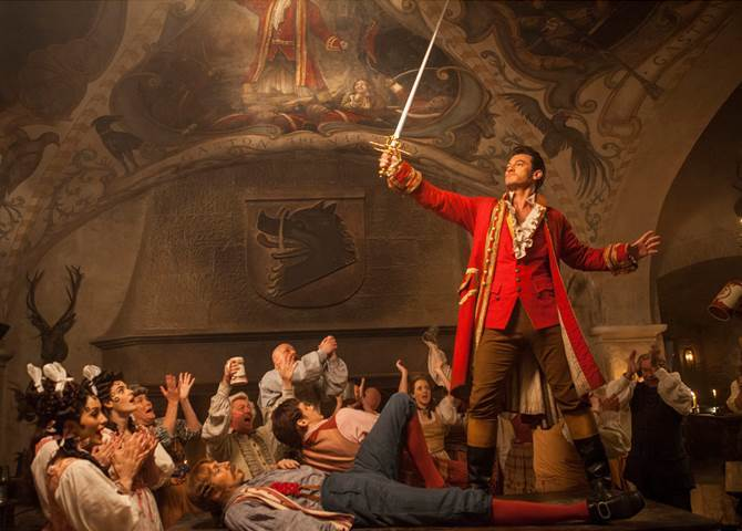 """BEAUTY AND THE BEAST – """"Gaston"""" Film Clip"""