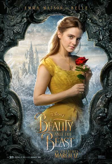 BEAUTY AND THE BEAST – Character Posters Now Available