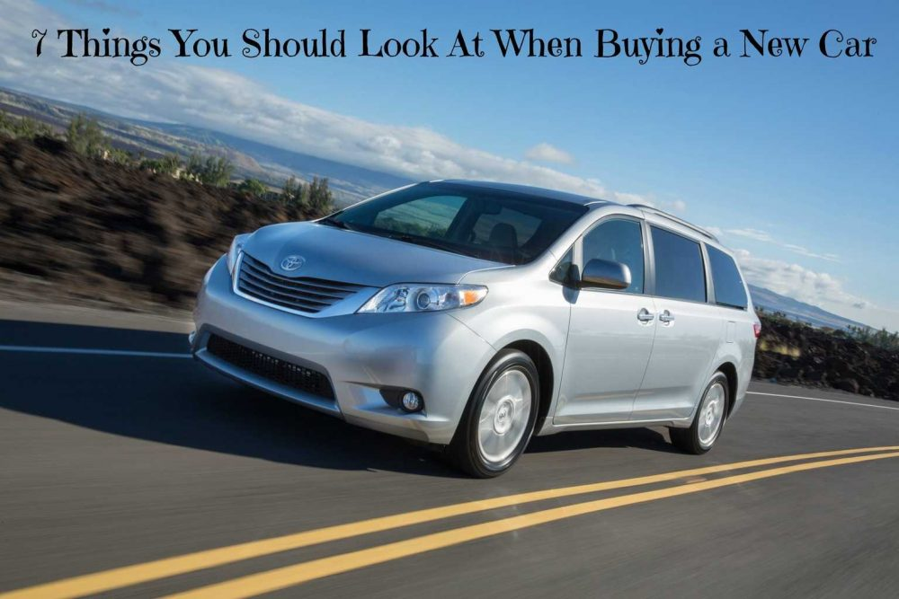 7 Things You Should Look At When Buying a New Car