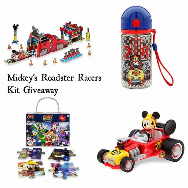 Mickey's Roadster Racers Kit Giveaway